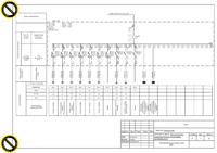 Проект-схема щита котельная