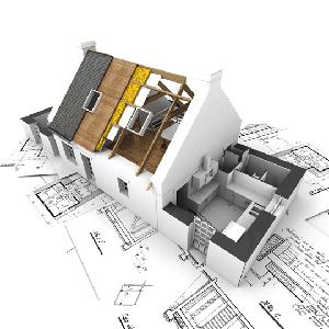 Прокладка электропроводки в домах (чертеж)